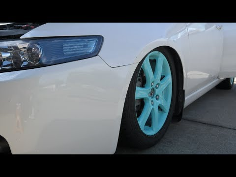 TSX Coilovers install