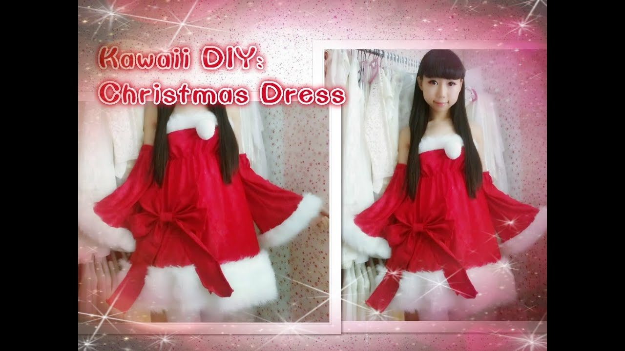 Christmas DIY: DIY Santa Christmas Dress Inspired by luka megurine ...