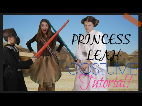 How To Be Princess Leia From Star Wars For Halloween! L Costume Reveal 2015!