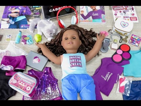 Opening American Girl Doll Gabriela ~ Whole World Collection Haul