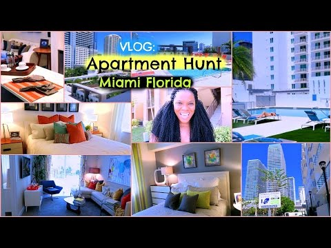 Vlog: Apartment Hunt Miami, Florida Part 1