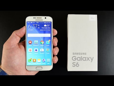 Samsung Galaxy S6: Unboxing & Review