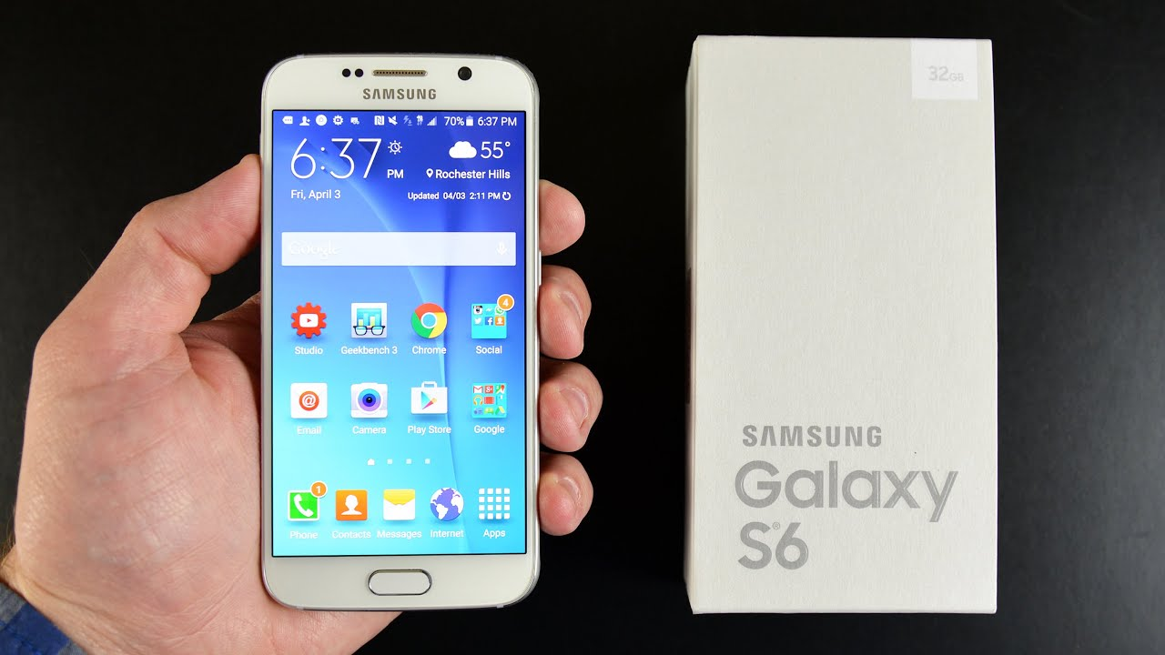 samsung galaxy s6 unboxing review youtube. Black Bedroom Furniture Sets. Home Design Ideas