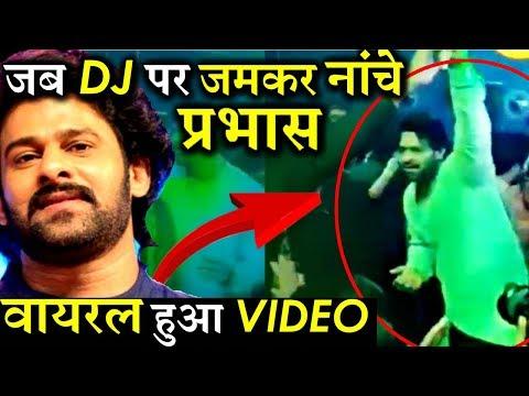 VIRAL VIDEO: When Baahubali Prabhas Burned The Dance Floor!
