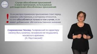Русский язык 8 класс. Обособленные приложения и выделительные знаки препинания