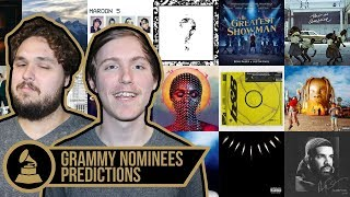 2019 Grammy Nominee Predictions