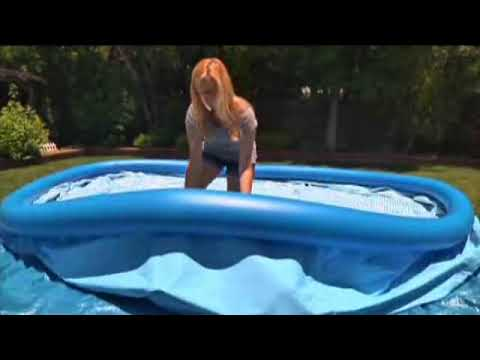 Piscina intex easy set youtube for Alberca intex