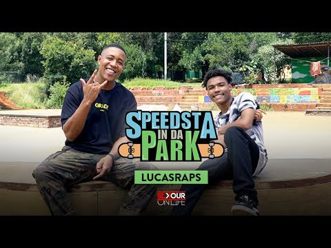 Download LucasRaps Speaks On How He Dropped Out Of School With Speedsta In Da Park