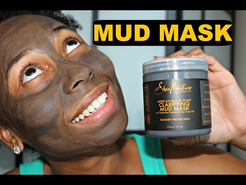 Shea Moisture African Black Soap Mud Mask| First Impression!