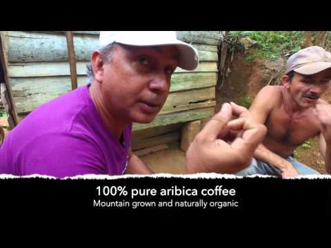 Organic Homemade Mountain Coffee in Cuba