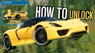 The Crew 2 - How to Unlock NEW Porsche Cayman GT4 Wasp Edition!