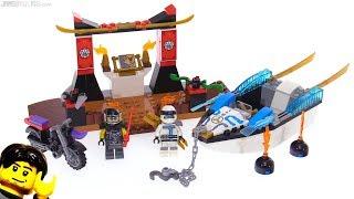LEGO Ninjago (Juniors) Zane's Ninja Boat Pursuit review! 10755