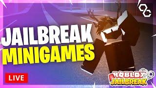 🔴 Jailbreak Minigames   Simon Says + Hide & Seek   Roblox Livestream 🔴