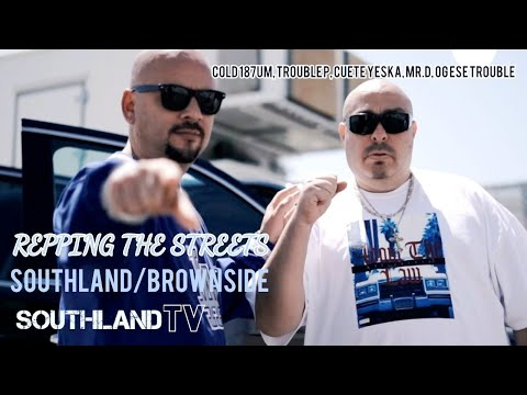 REPPING THE STREETS: Mister D Ft. Wicked BrownSide, Cold 187um, Trouble P, CueteYeska,Og Ese Trouble