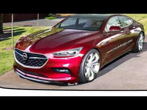 2020 Opel New Monza Concept Sedan SPort ??!