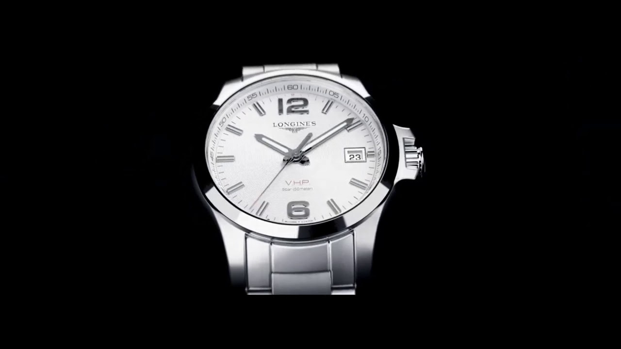 Longines conquest vhp watch precision for performance winter sport youtube for Winter watches
