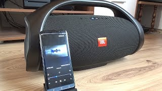 JBL Boombox Bass Test (with S8)