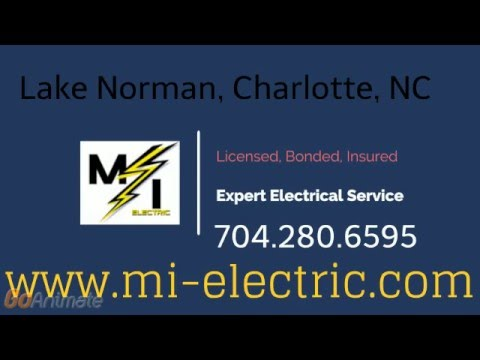 MI Electric of Lake Norman, Licensed electrician Cornelius, NC
