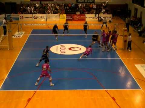 The Quadruple Block by Toulouse French A1 Team