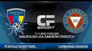 Skrót meczu: Podhale Nowy Targ - Garbarnia Kraków 11.10.2018