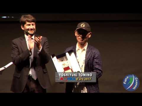 DARIO FRANCESCHINI premia ROMICS D'ORO | HD