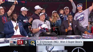 "Rob Gronkowski ""I'm Not Letting Bill Out-Party Me!"" 