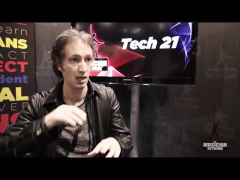 Tech 21 - Andrew Barta: NAMM 2012 Interview
