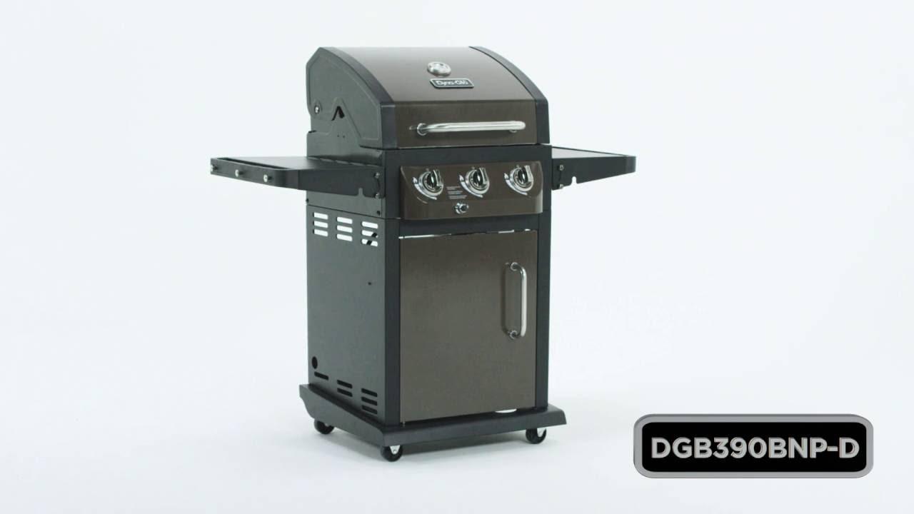 Dyna Glo Dgb390bnp D Smart E Living 3 Burner Lp Gas Grill