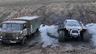 РУБИЛОВО в БОЛТНОЙ КАНАВЕ  Шишига Самурай УАЗ и болотоходы off road 4x4
