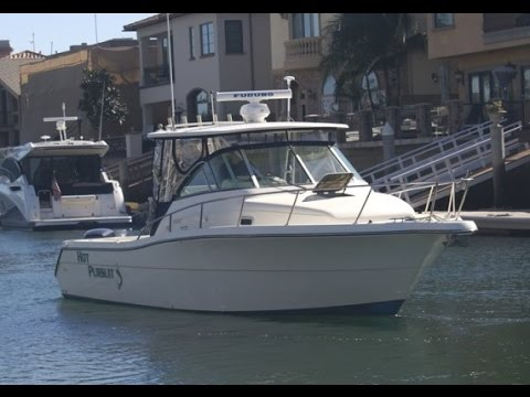"Pursuit 3070 Offshore ""On the Water, Docking & Engines"" by South Mountain Yachts"