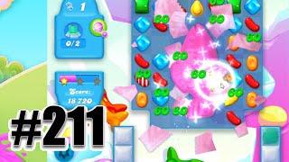 Candy Crush Soda Saga Level 211   Complete! No Booster!