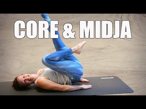 #13: CORE - midja - kärlekshandtag - ländrygg | hemmaträning | styrketräning