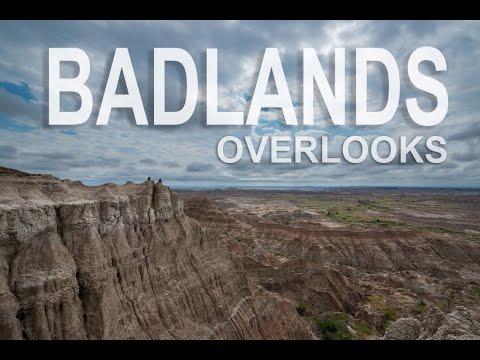 Badlands South Dakota Overlooks