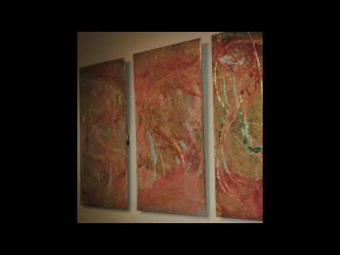 """""""FIRST""""  Resin Art on Brass"""