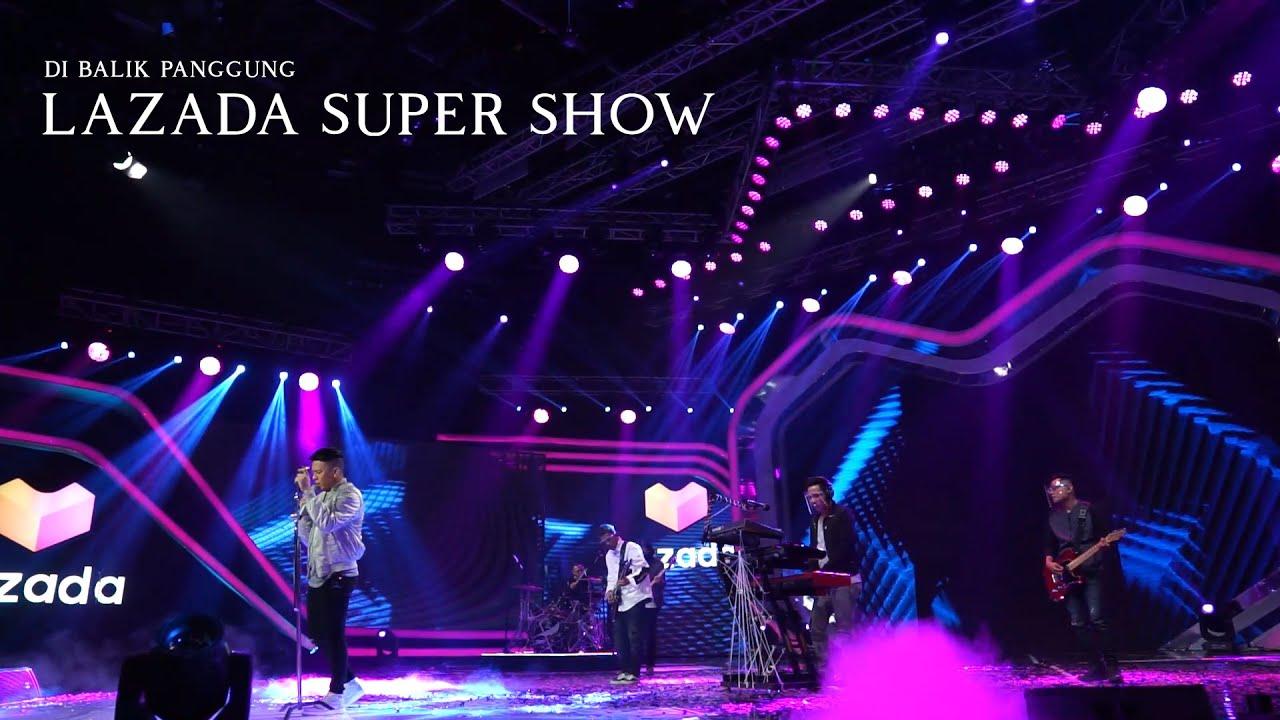 NOAH - Di Balik Panggung Lazada Super Show