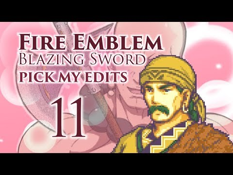 """Part 11: Let's Play Fire Emblem 7 PME - """"The Silver Wolf"""""""