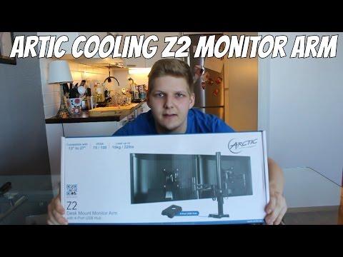 Gaming Setup Upgrade! - Arctic Cooling Z2 Näyttöteline