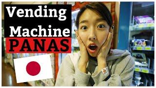 COBAIN MAKANAN VENDING MACHINE PANAS JEPANG |  MUKBANG