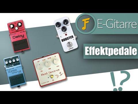 Die 4 Wichtigsten Effektpedale Für Die E-Gitarre   Jamflix
