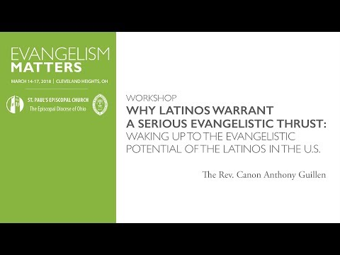 Workshop   Why Latinos Warrant a Serious Evangelistic Thrust