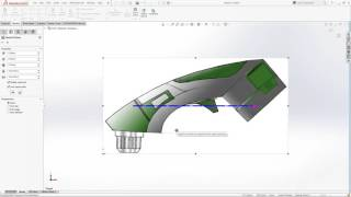 How to design from a picture in SOLIDWORKS