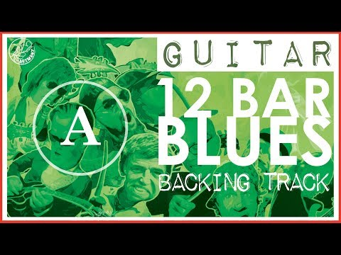 12 Bar Blues Backing Track in A