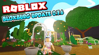 NEW Gardening Update REVIEW | Welcome to ROBLOX Bloxburg