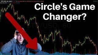 Crypto Drops Hard, Circle