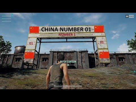 "PLAYERUNKNOWN'S BATTLEGROUND Indonesia - ""CHINA NUMBA WAN"" /w KoiP & Tomato(Crozen)"
