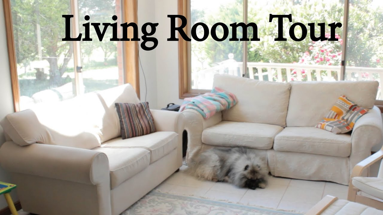 Tour of our minimalist living room baby proof too youtube for Minimalist house tour