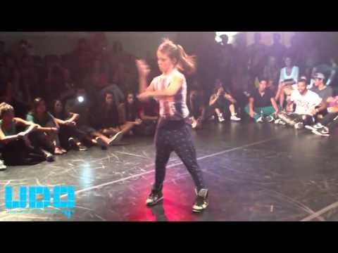 Jade Chynoweth vs Slinky 2012 dance battle