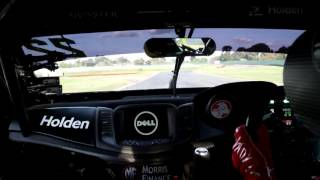 Holden Racing Team V8 Supercar Hot Lap With Jack Perkins at Sandown Raceway