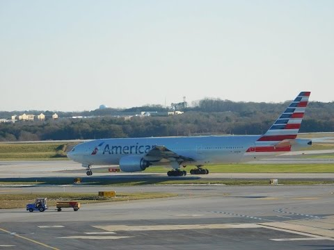 1 Hour of Airplane Spotting @BWI!!!