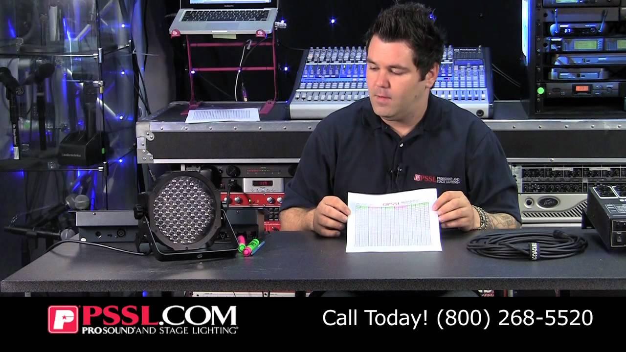 DMX Lighting 101 - Video Tutorial   PSSL